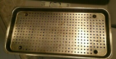 Oem Ritter M9 Ultraclave Steam Sterilize Autoclave Small Tray 12 X 6 Top Bottom