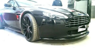 Aston Martin Vantage V8 2005- 2010, bumper chin spoiler splitter body styling