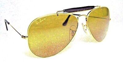 Ray-Ban USA Nos VINTAGE B&L Aviator Chromax W1663 Fahren Serie Neu Sonnenbrille (Ray-ban Sonnenbrille Fahren)
