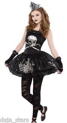 ★ Amscan Gothic Ballerina,Zombie,Zomberina,Kostüm, Kinderkostüm, Hexe 152-170 (Zombie Ballerina Kostüme)