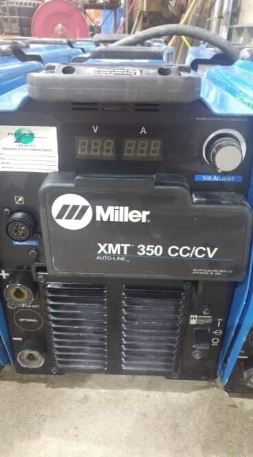 4- Miller XMT 350 CC/CV Multiprocess Welder 2012 2011 years