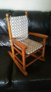 Kids Rocker, rocking chair made of real wood! sturdy & clean!