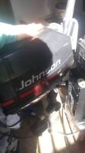 6 HP Johnson Outboard Motor - 2 stroke