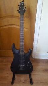 Schecter demon guitar
