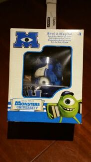 Brand new Monster university bowl and my set  Quakers Hill Blacktown Area Preview
