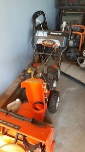 Electric Start Snowblower, Arlens Compact 24