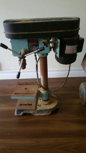 Table top drill press