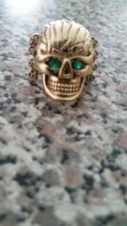 9ct gold  skull ring Busselton Busselton Area Preview