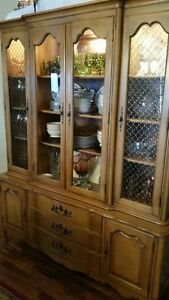 Display Cabinet - solid wood