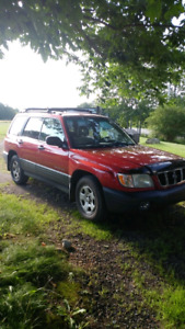 2002 forester 5 speed