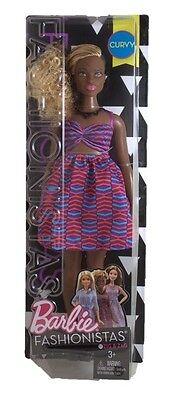 Barbie Fashionistas Curvy Barbie #50 mild package damage