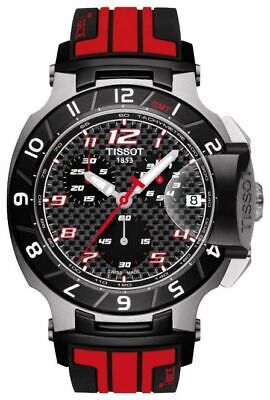 $995.00 Tissot T-Race Moto GP Limited Edition Black & Red T048.417.27.207.01