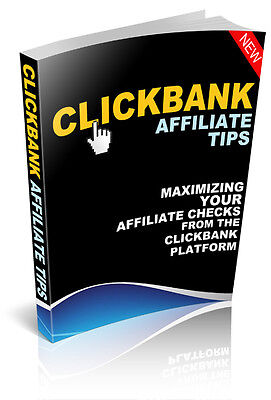 eBook-PDF Master Resell Rights Clickbank Affiliate Tips