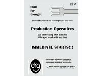 Production Operative x50 - DUNGANNON - (Full-time /Temporary)