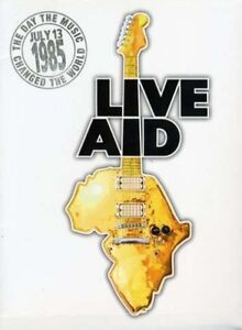 LIVE AID JULY 13th 1985: THE DAY THE MUSIC CHANGED THE WORLD NEW SEALED 4DVD SET