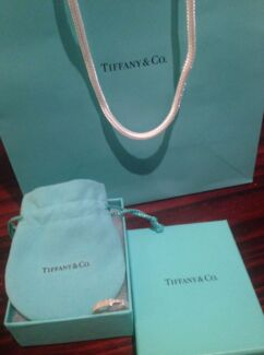 Tiffany & Co Somerset Mesh Diamond Ring Size 7 RRP $805 Lyndhurst Greater Dandenong Preview
