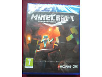 New, sealed MINECRAFT for PS4