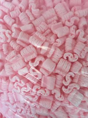 Packing Peanuts Loose Fill Anti Static Pink 20 Cubic Feet150 Gallons Brand New