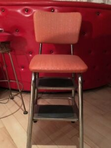 Unique 1950s Two Step Chair – Space Saver