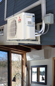 Heat pump installed with 5 years warranty starting at 2700$