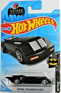 Hot Wheels 1/64 Batman The Animated Series Batmobile Diecast Car