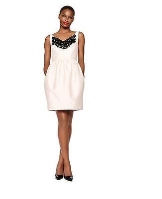 New Kate Spade New York Embellished Cupcake Dress Shell Pink Size 2 $598