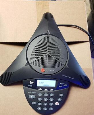 Polycom Soundstation 2 2201-16200-601 Expandable Display Conference Telephone