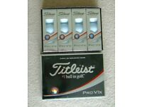 15 New Titleist ProV1x golf balls