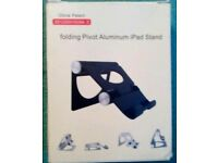 Brand new! Tablet ipad stand/ mount folding pivot aluminium