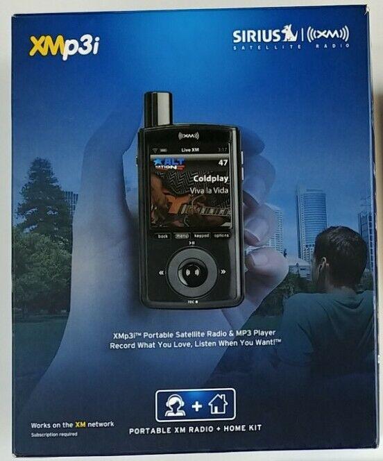 Sirius XM XMP3i Portable Satellite Radio For Car & Home Dock Bundle