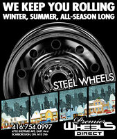 GET YOUR STEEL RIMS AT WHEELS DIRECT