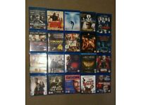 Selection of 20 blu rays for sale