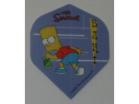 9 flights Simpsons  Bart Homer Duff Standard Dart Flights FREE SHIP #1 3 Set