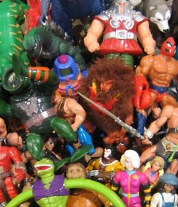 WANTED- Old, broken or unwanted action figures