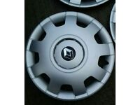 """New Renault 16"""" Wheel trims. 4 new wheel covers"""