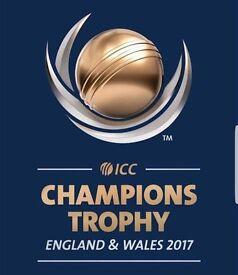 Gold Seat Tickets- India vs Sri Lanka ICC Champions Trophy 2017 08 June, Thursday