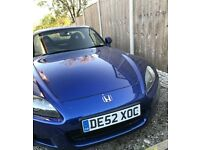 HONDA S2000 GT BLUE - IMMACULATE CONDITION AND TRULY STUNNING S2000 GT WITH FACTORY FITTED HARDTOP!