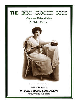 Irish Crochet Book C.1913 Vintage Fancy Lace Patterns