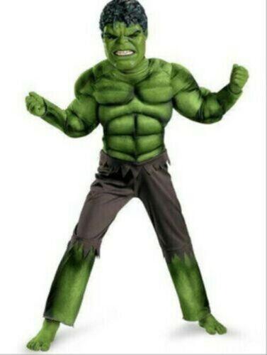 The Avengers Hulk Kinder Kostüm+maske Karneval Jungen Kostümparty Cosplay Kostüm