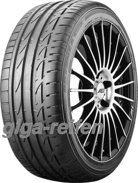 2x Sommerreifen Bridgestone Potenza S001 RFT 255/35 R19 92Y * BSW Run Flat