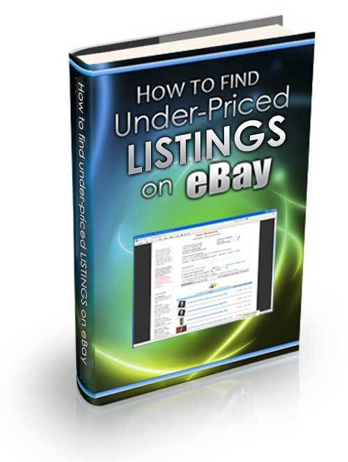 Find Under-Priced Listings on eBay Expert Training