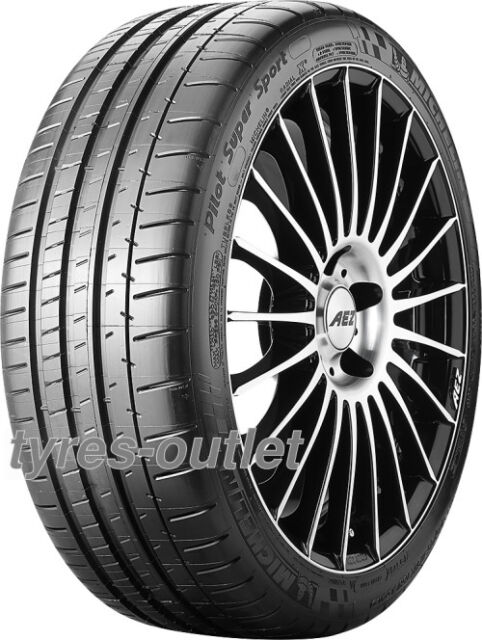 4x SUMMER TYRE Michelin Pilot Super Sport 255/35 ZR19 92Y