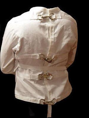 Straitjacket Halloween (Snap hooks style straight jacket straitjacket strait straightjacket)