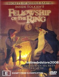 INSIDE-TOLKIENS-Lord-of-the-Rings-FELLOWSHIP-RING-Middle-Earth-SECRETS-DVD-NEW