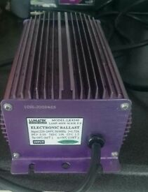 Lumatek digital hid ballast variable 250w-400w hydroponic