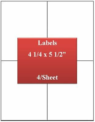 Ul Labels Laserinkjet Premium White Strong Adhesive 4 14x5 12 1000 Label