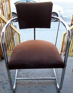 Mid Century 60s Office Chair Chaise de Bureau Retro Vintage
