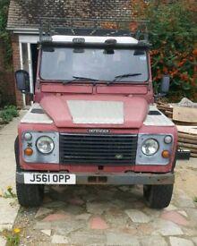 REDUCED!!! Land Rover 110 Defender