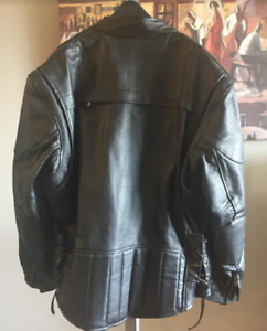 7aedaddce Motorcycle Leather Jacket Men | Buy & Sell Items From Clothing to ...