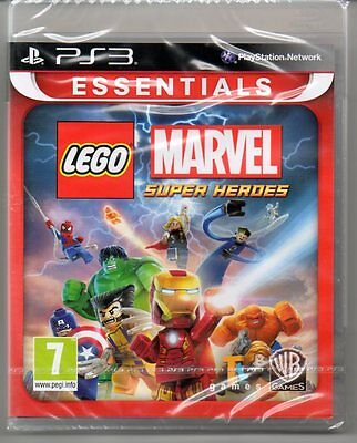 LEGO Marvel Super Heroes 'New & Sealed' *PS3*